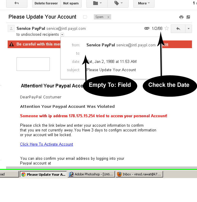 Email Scam-Phishing real sample-must avoid
