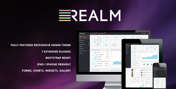realm admin template