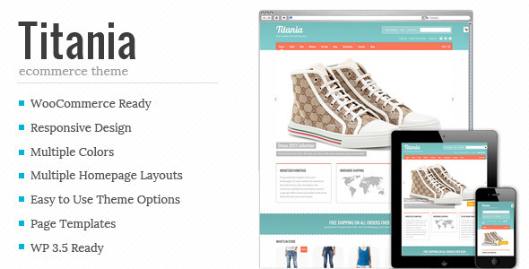 titania premium wordpress theme template
