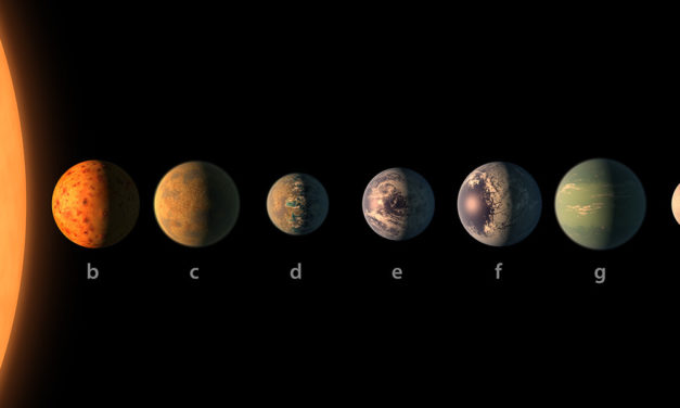7 New Earth Sized Planets Discovered in Habitable Zone