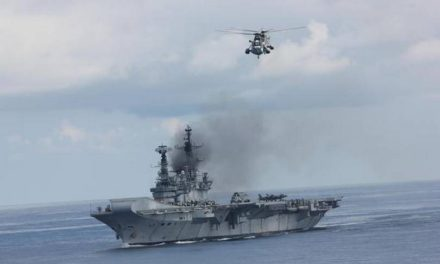 INS Viraat bows out of service