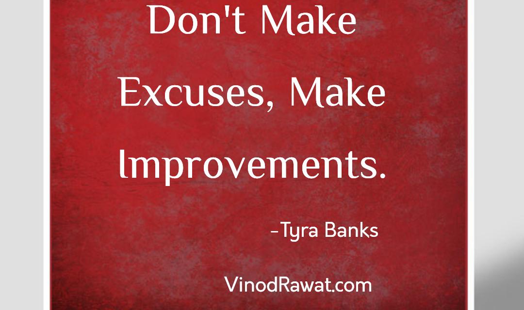 Make Improvements