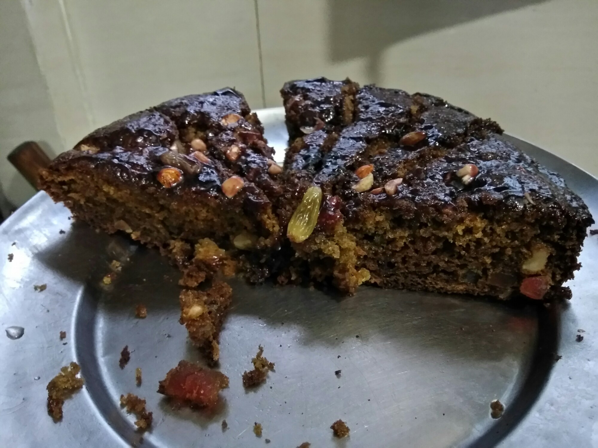 Rice Flour Honey Cake