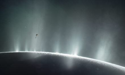 NASA Mission Cassini the Enceladus
