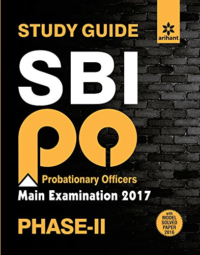 SBI po main examination 2017