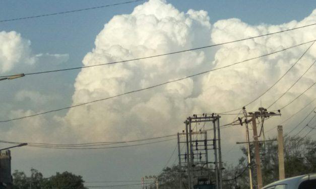 Superb Clouds Show over Kasauli Hills – a must watch
